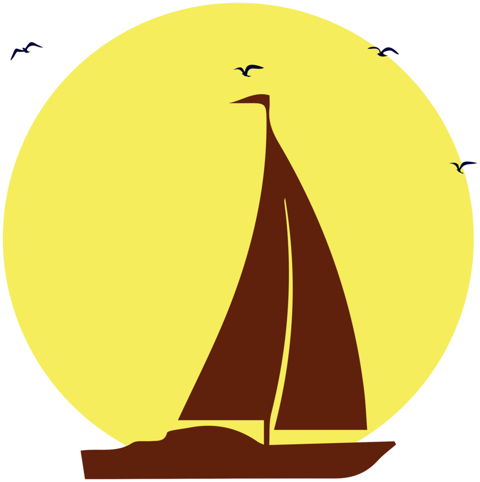 barca a vela png