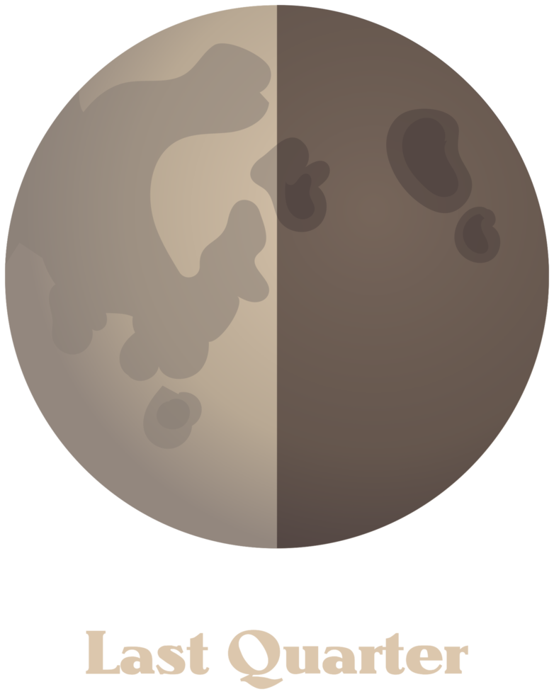 Mond Phase png