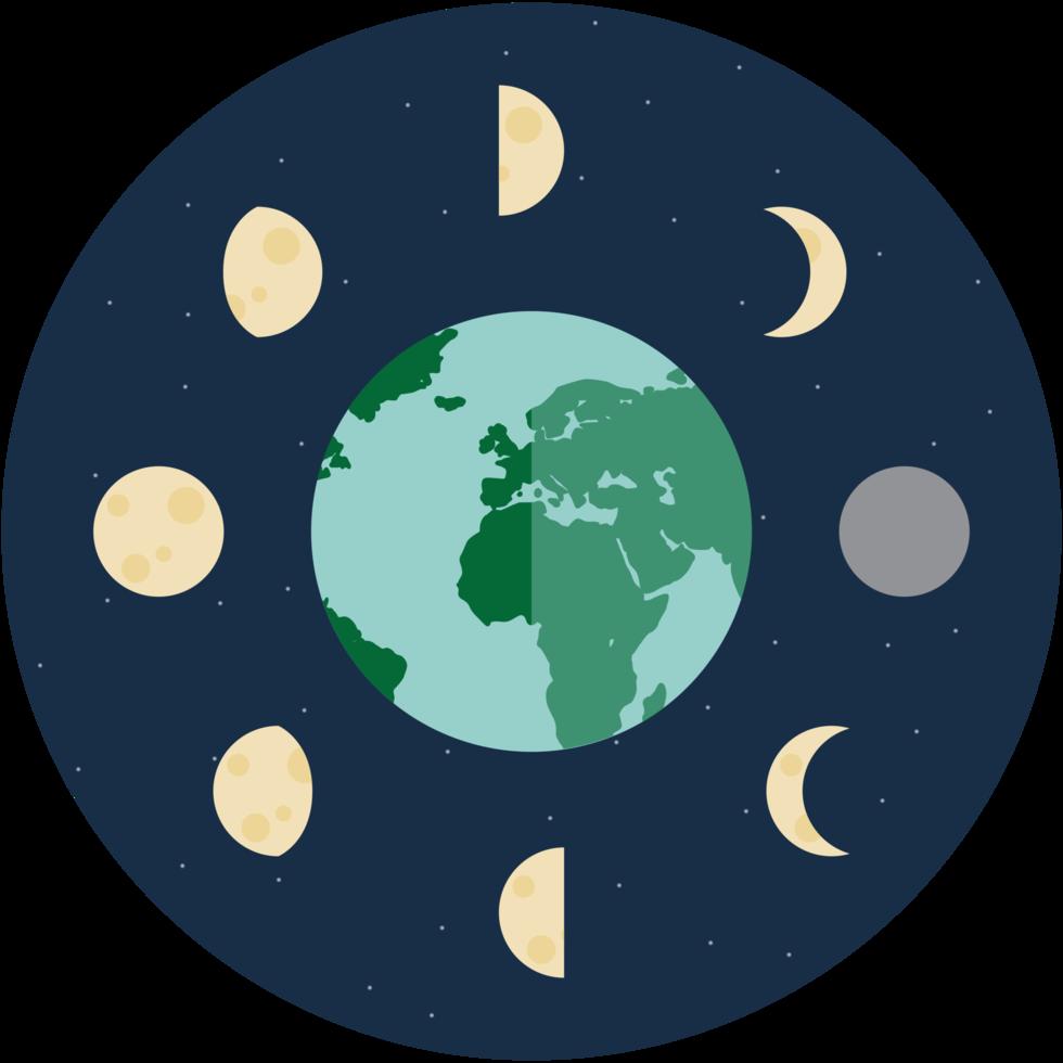 ícone da fase da lua png