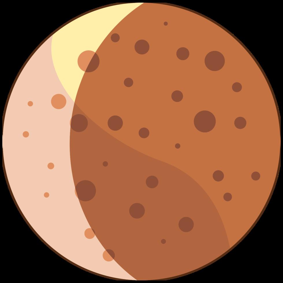 fase da lua png