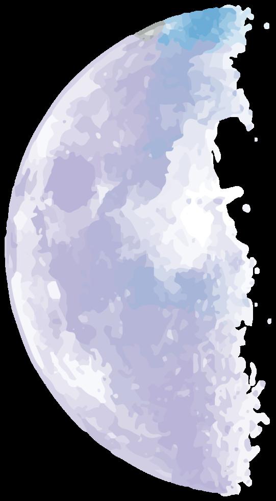 fase lunar png