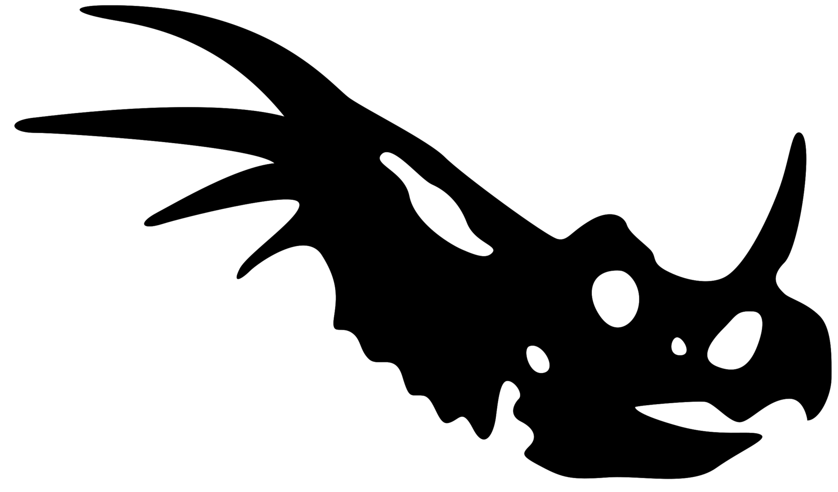 schedel dinosaurus png
