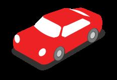 city car isometrica png