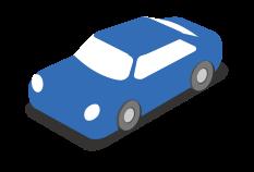 carro da cidade isométrico png
