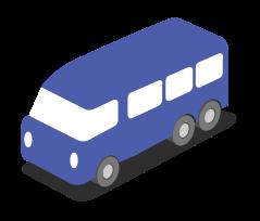 coche de la ciudad isométrica png