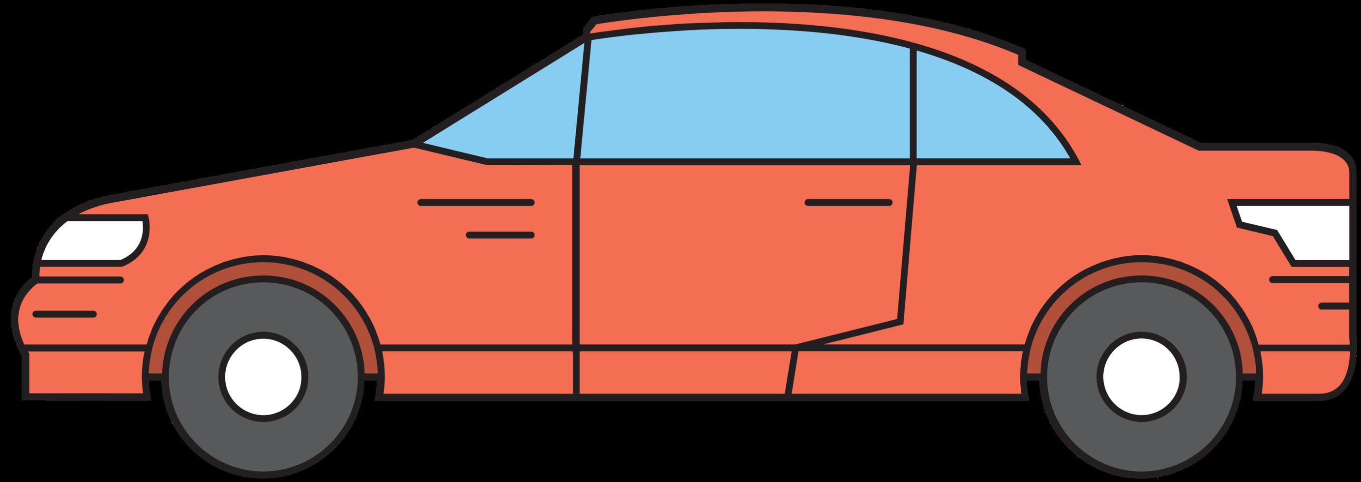 carro sedan png