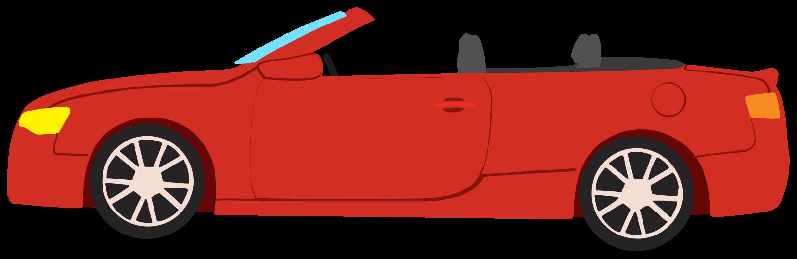 carro conversível png