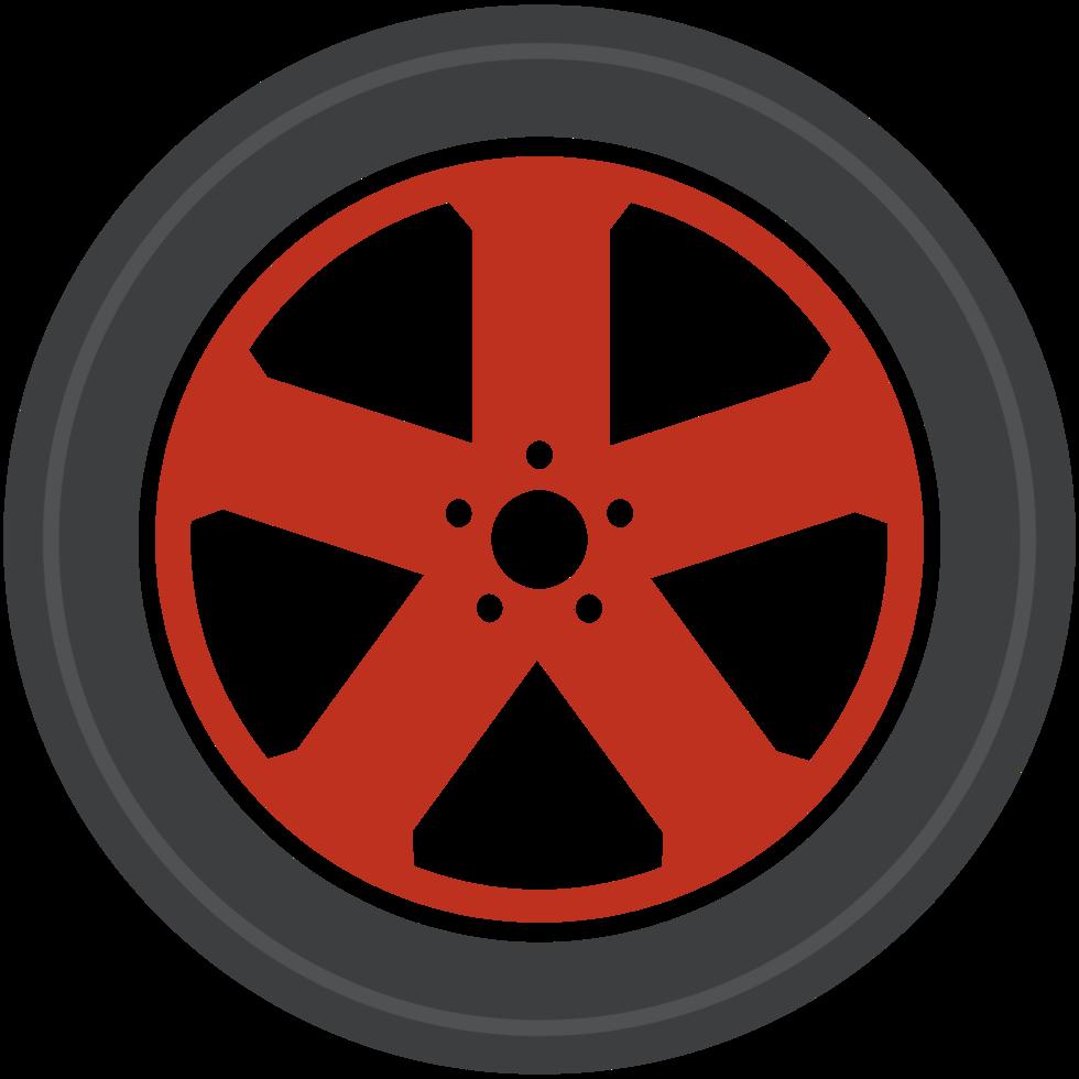 rueda de fundición de coche png