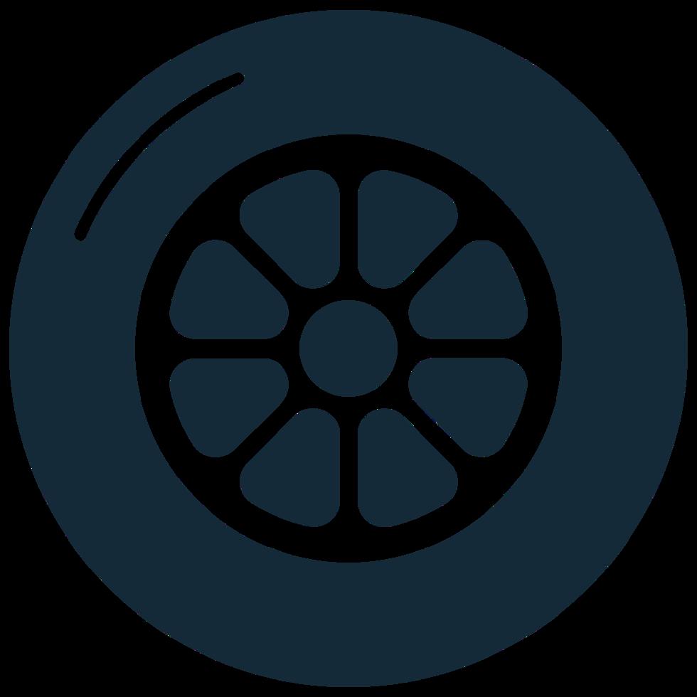 roda de carro fundido png