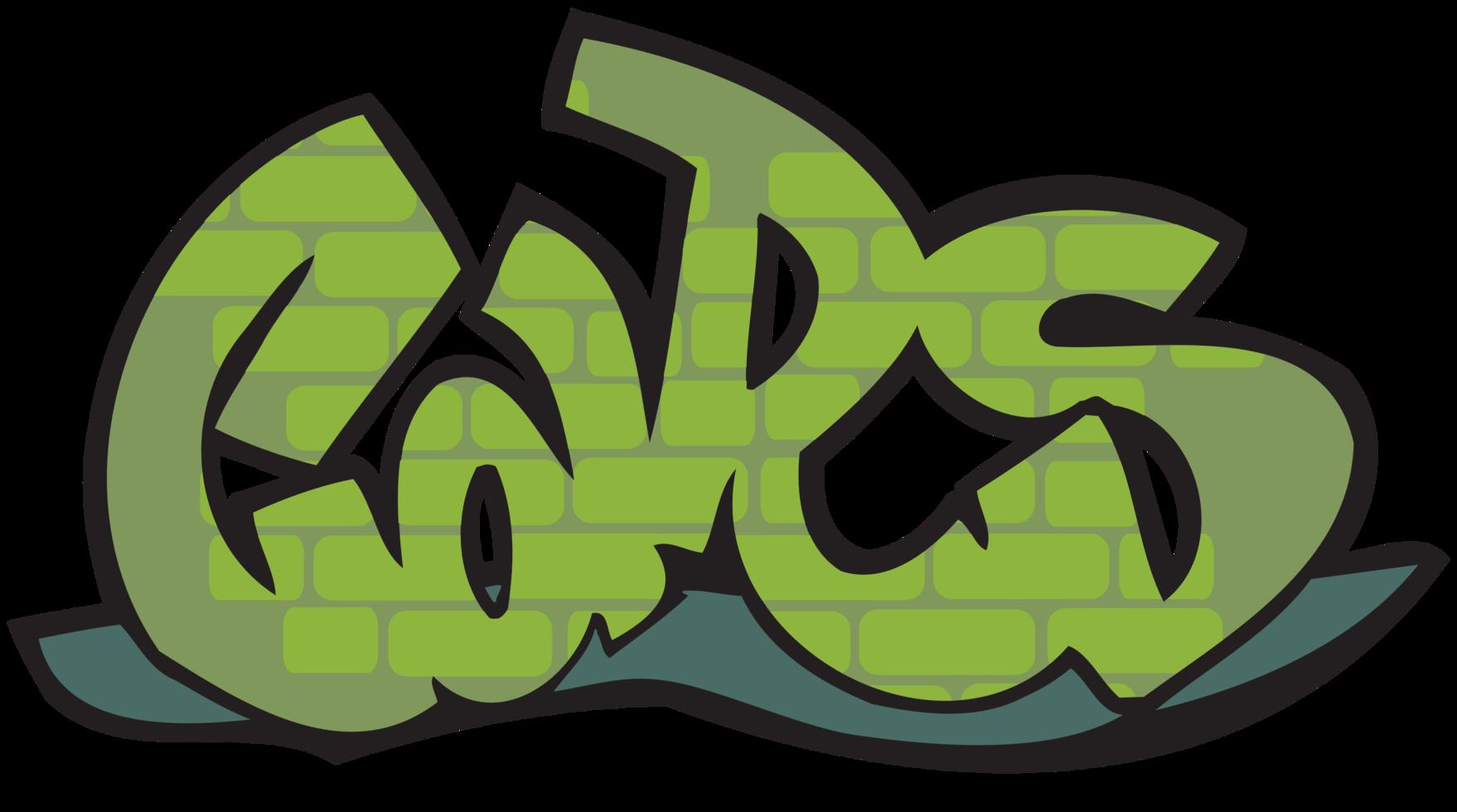 graffiti typografie png