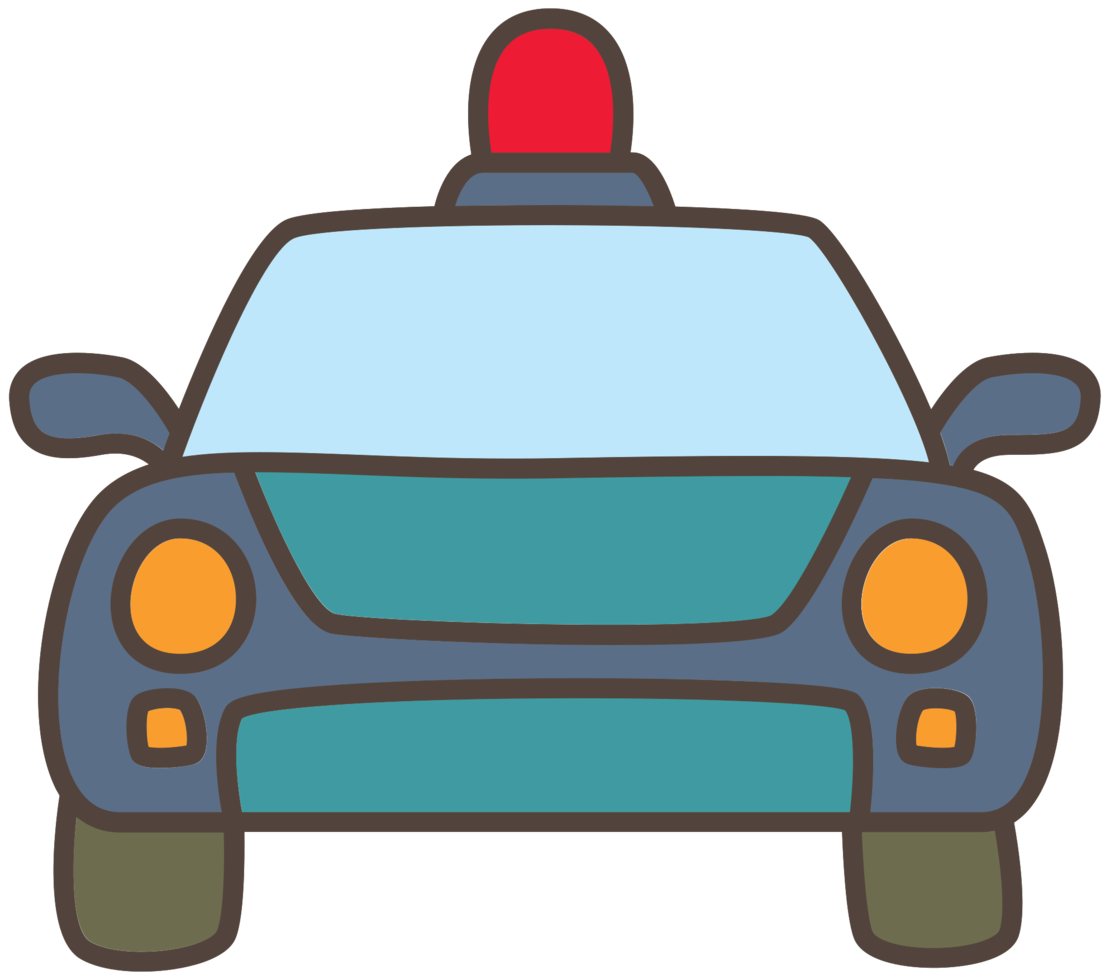 politieauto png