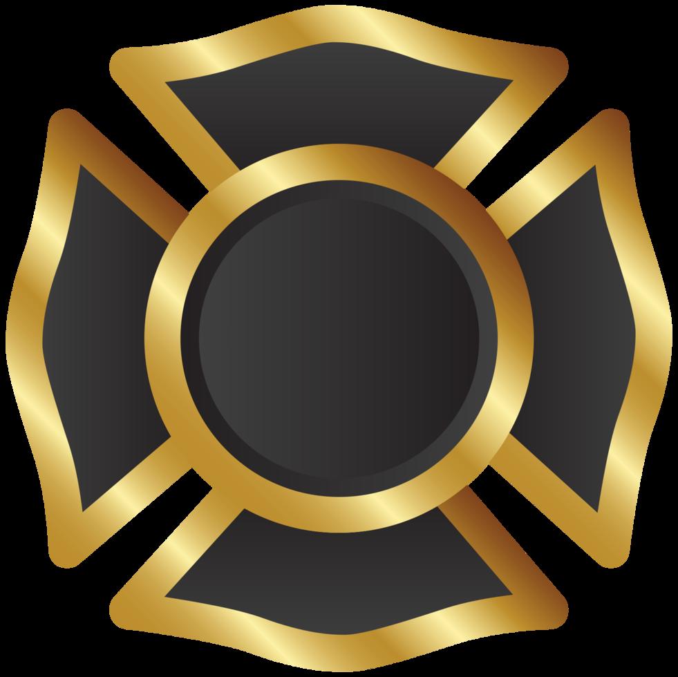 cruz maltesa de oro png