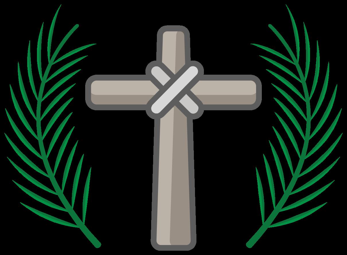 domenica delle palme incrociate png
