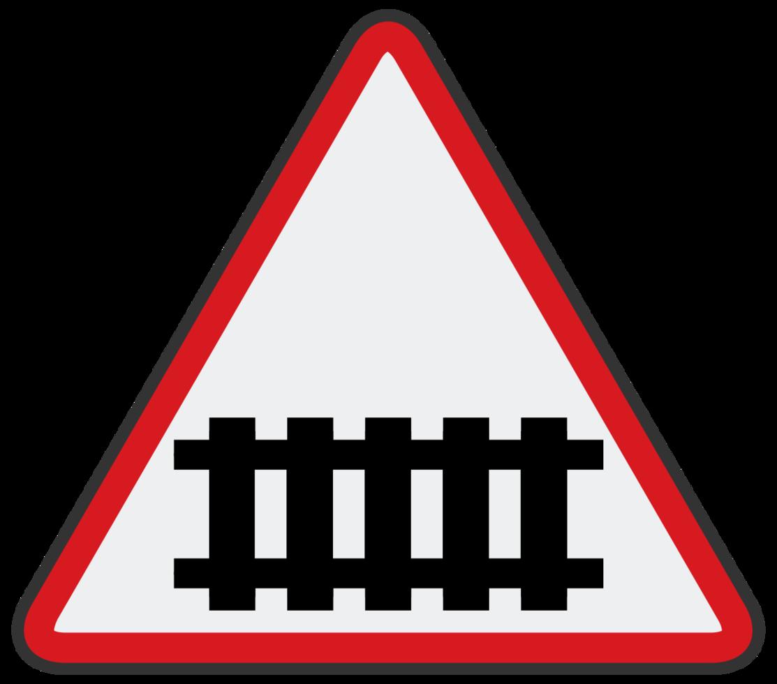 atravessar o sinal de estrada png