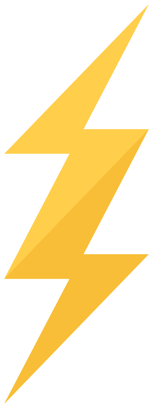 Free Lightning PNG with Transparent Background