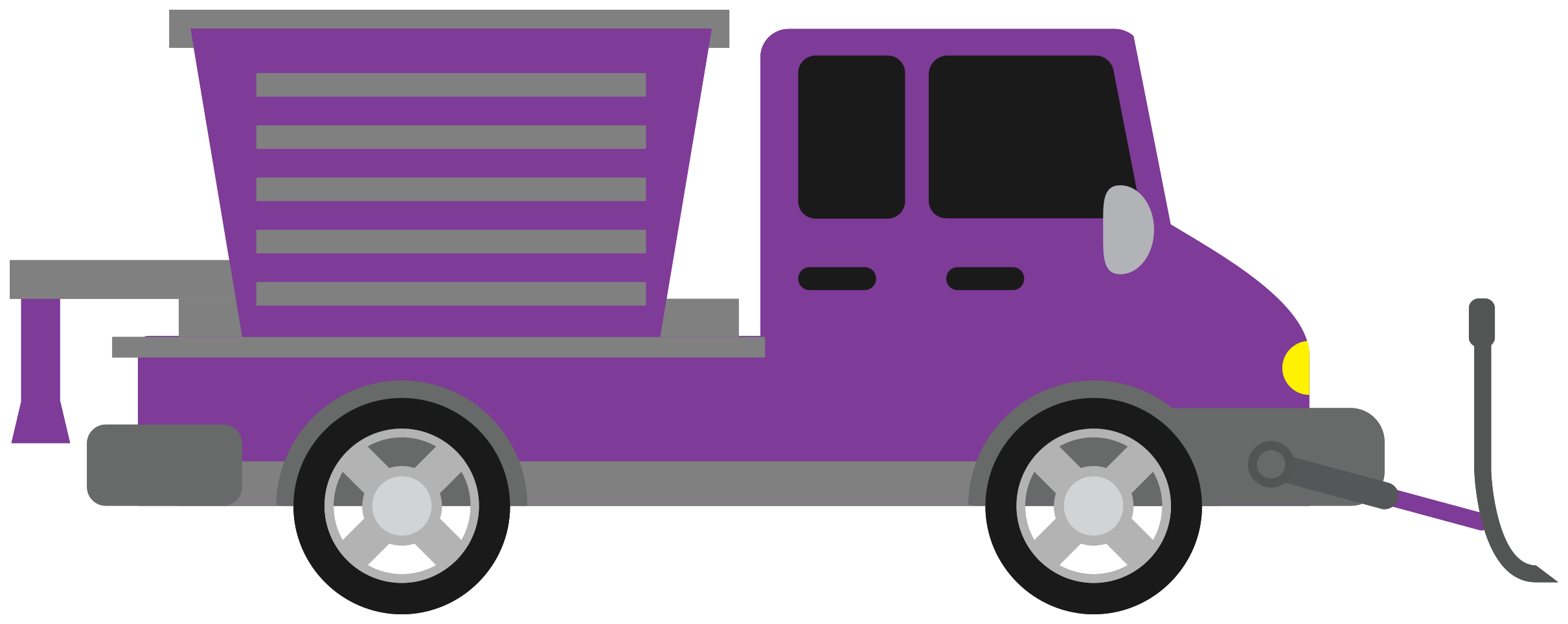 snow plow truck png