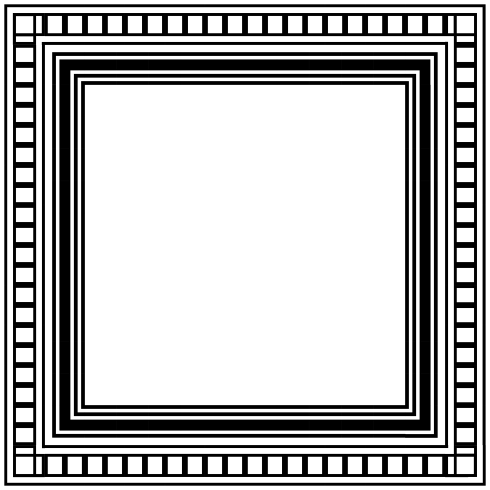 quadratischer Rahmen png