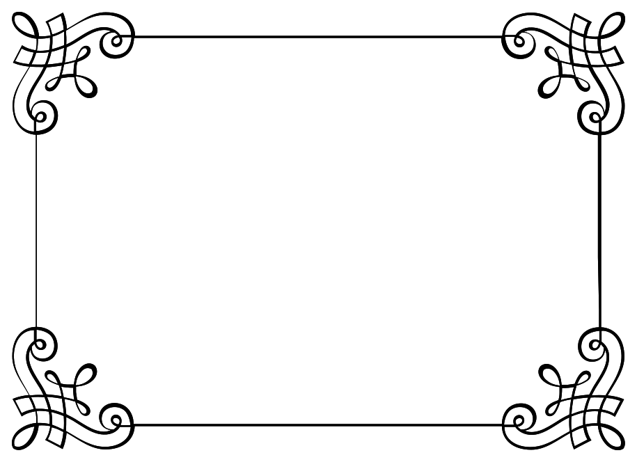 Free Border Png With Transparent Background