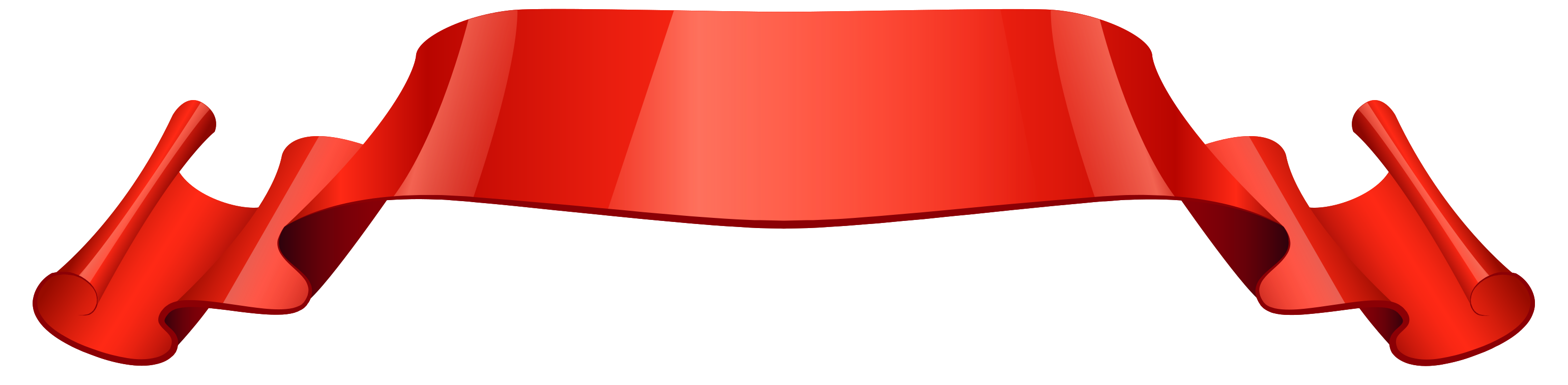 rood glanzend lint png