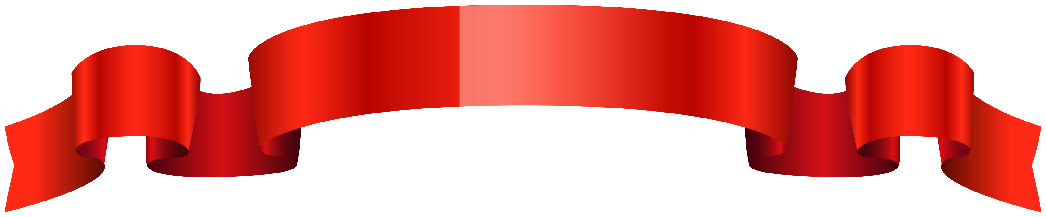 rotes glänzendes Band png