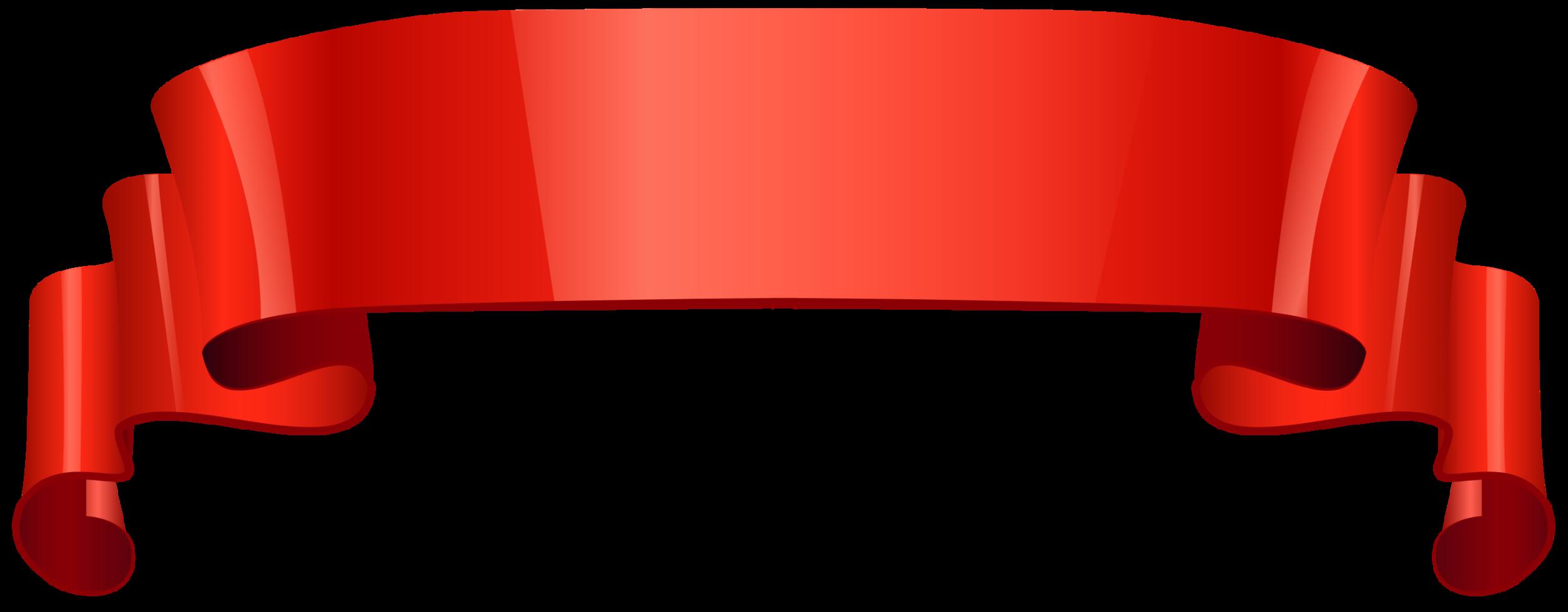 ruban brillant rouge png
