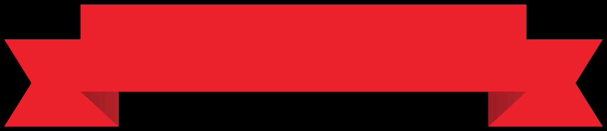 rött band png