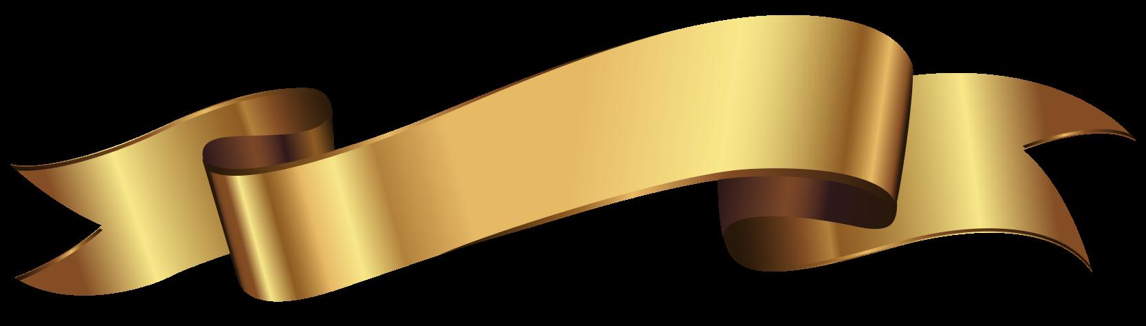 goldenes Band png