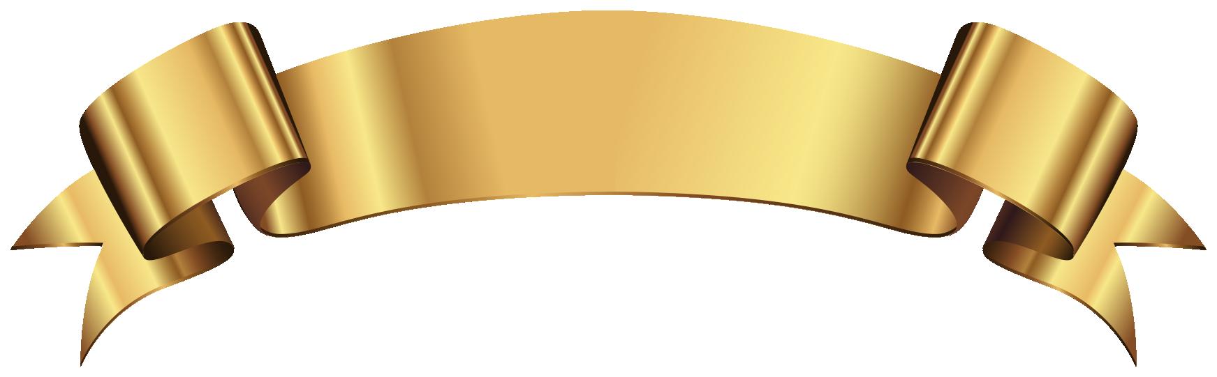 fita dourada png