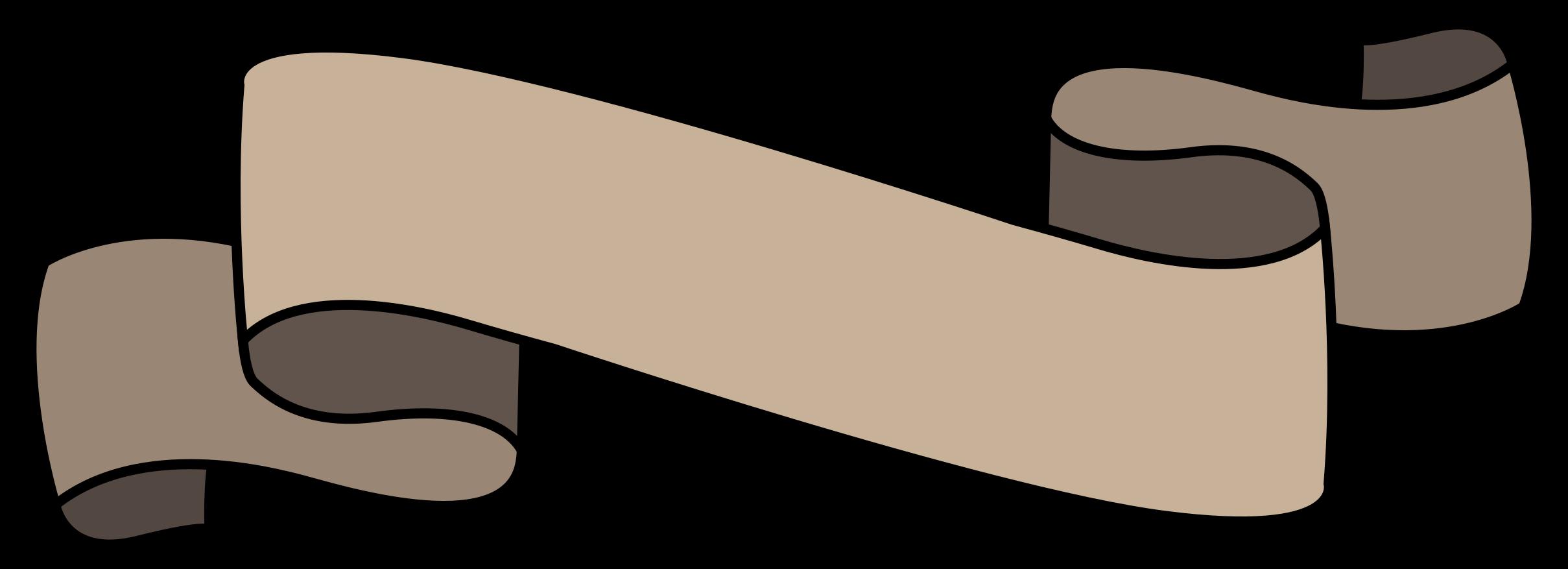 Outline ribbon png