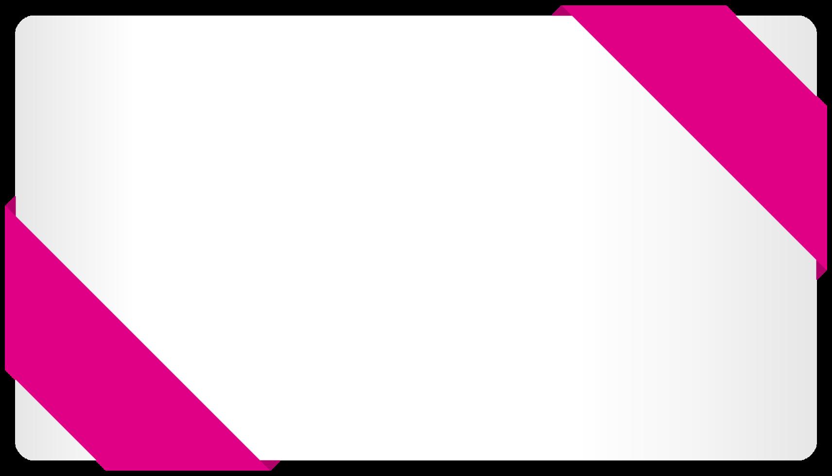 Ribbon card png