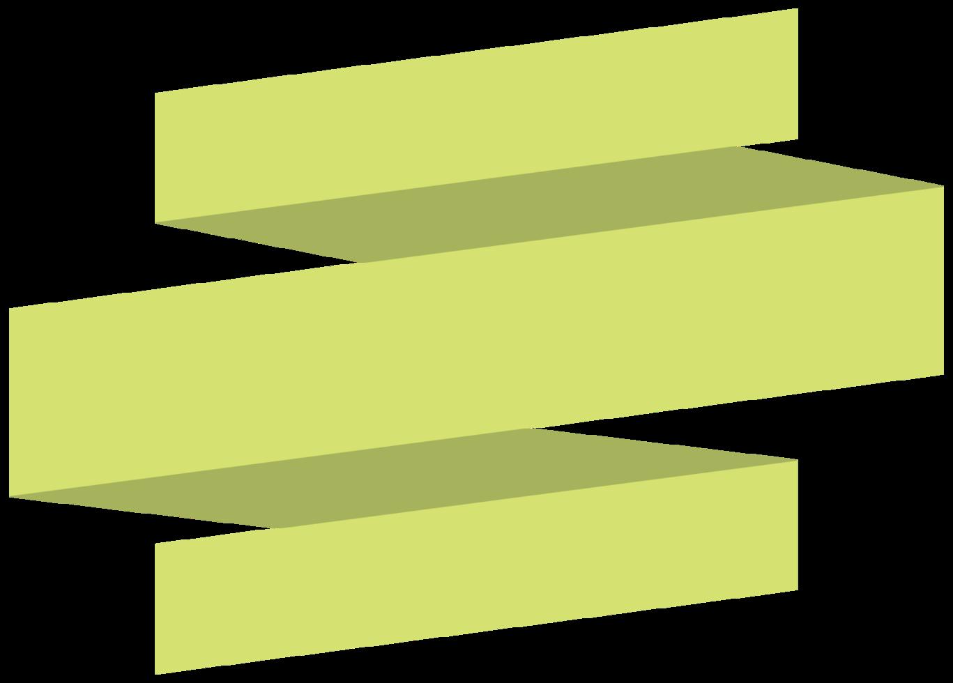 Origami ribbon png