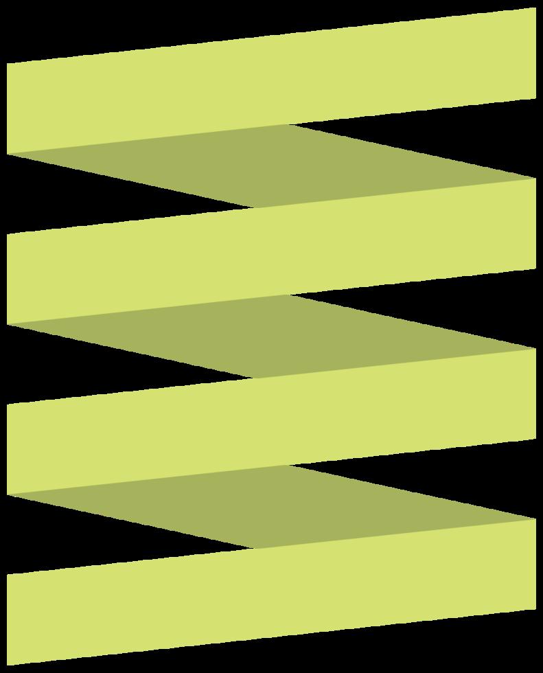 fita de origami png