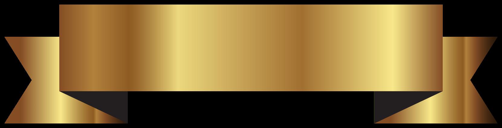 fita de ouro png