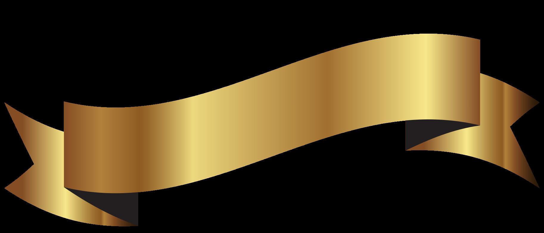 nastro d'oro png