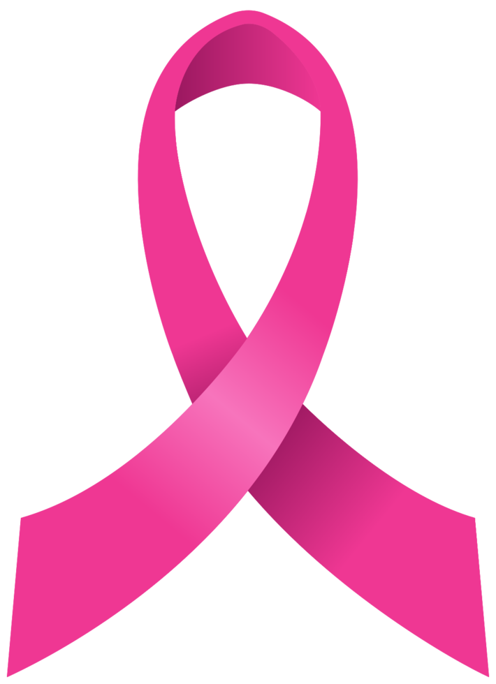 rosa Band des Brustkrebses png