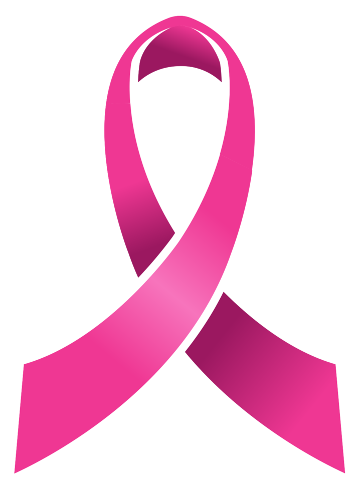 Breast cancer pink ribbon png