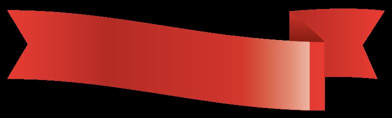glänzend rotes Banner png