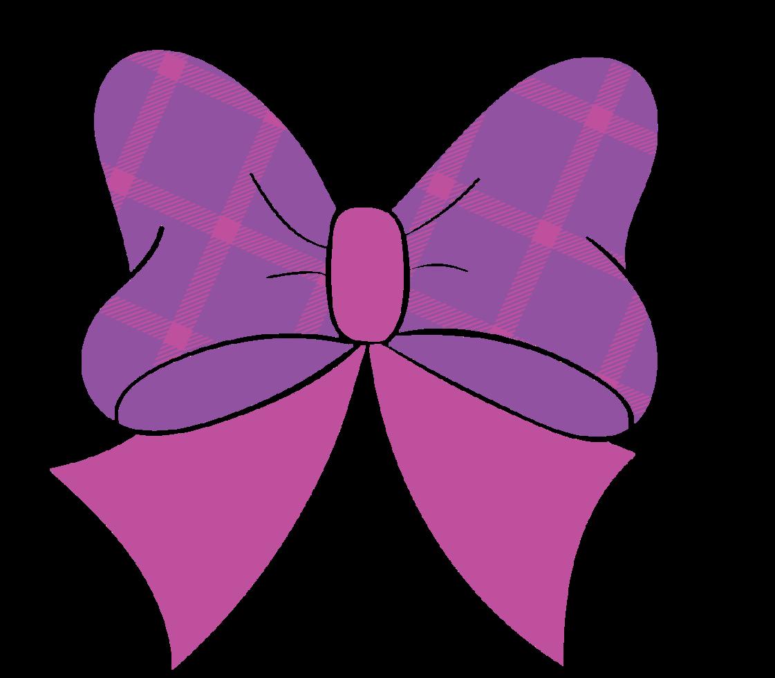 süßer Bogen mit Muster png