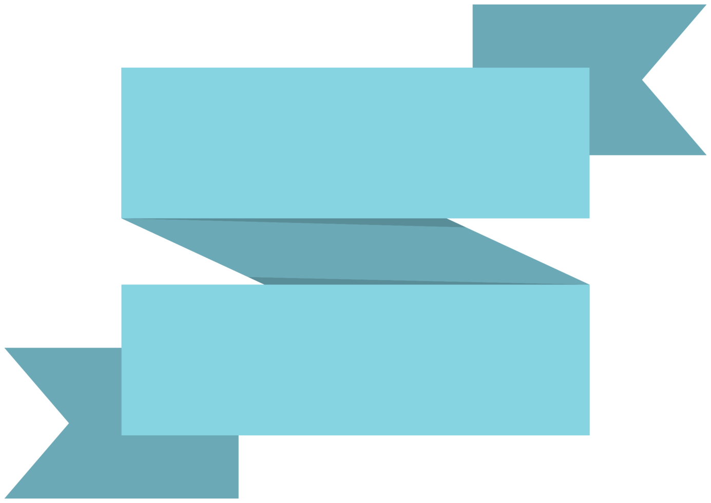 fyrkantig dubbel banner png