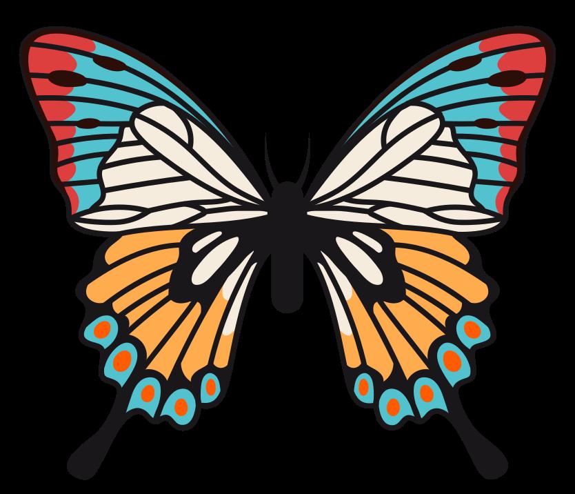 fjäril png