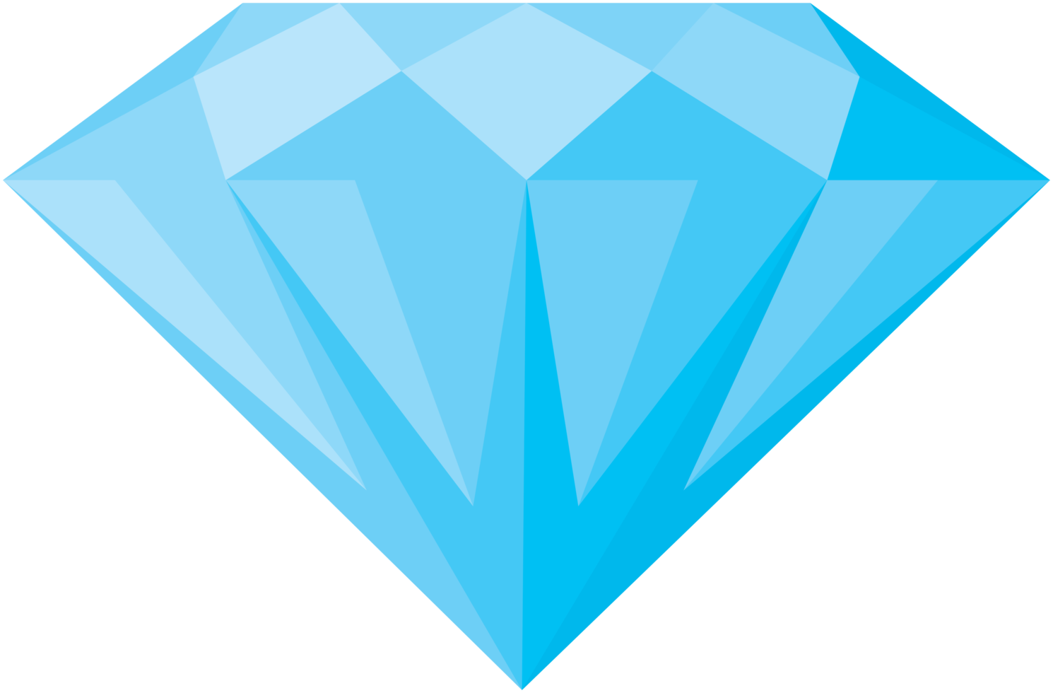 Diamant Vorderansicht png