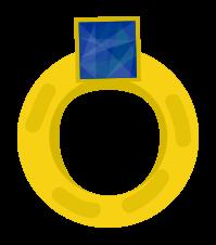 anello di diamanti in oro png