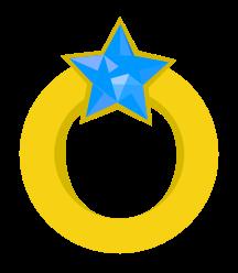 anel de diamante de ouro png