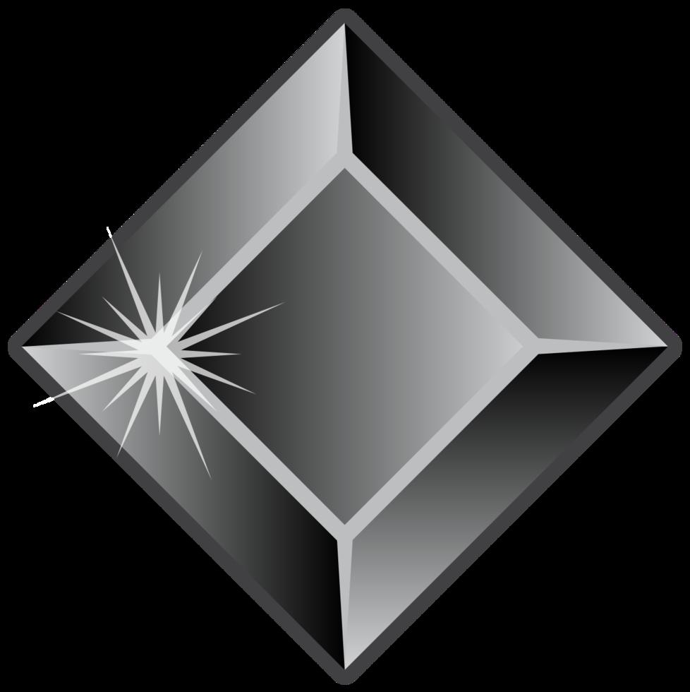 pedra de diamante png