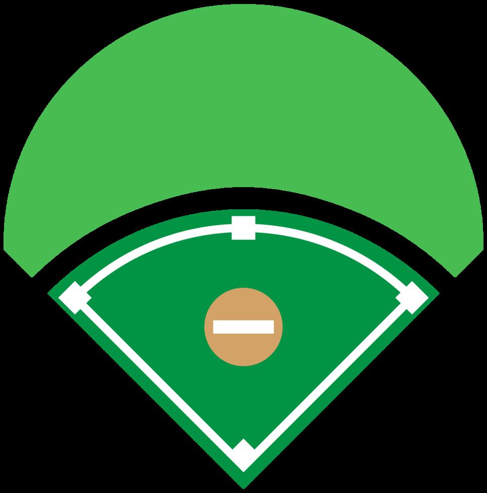 diamante del baseball png