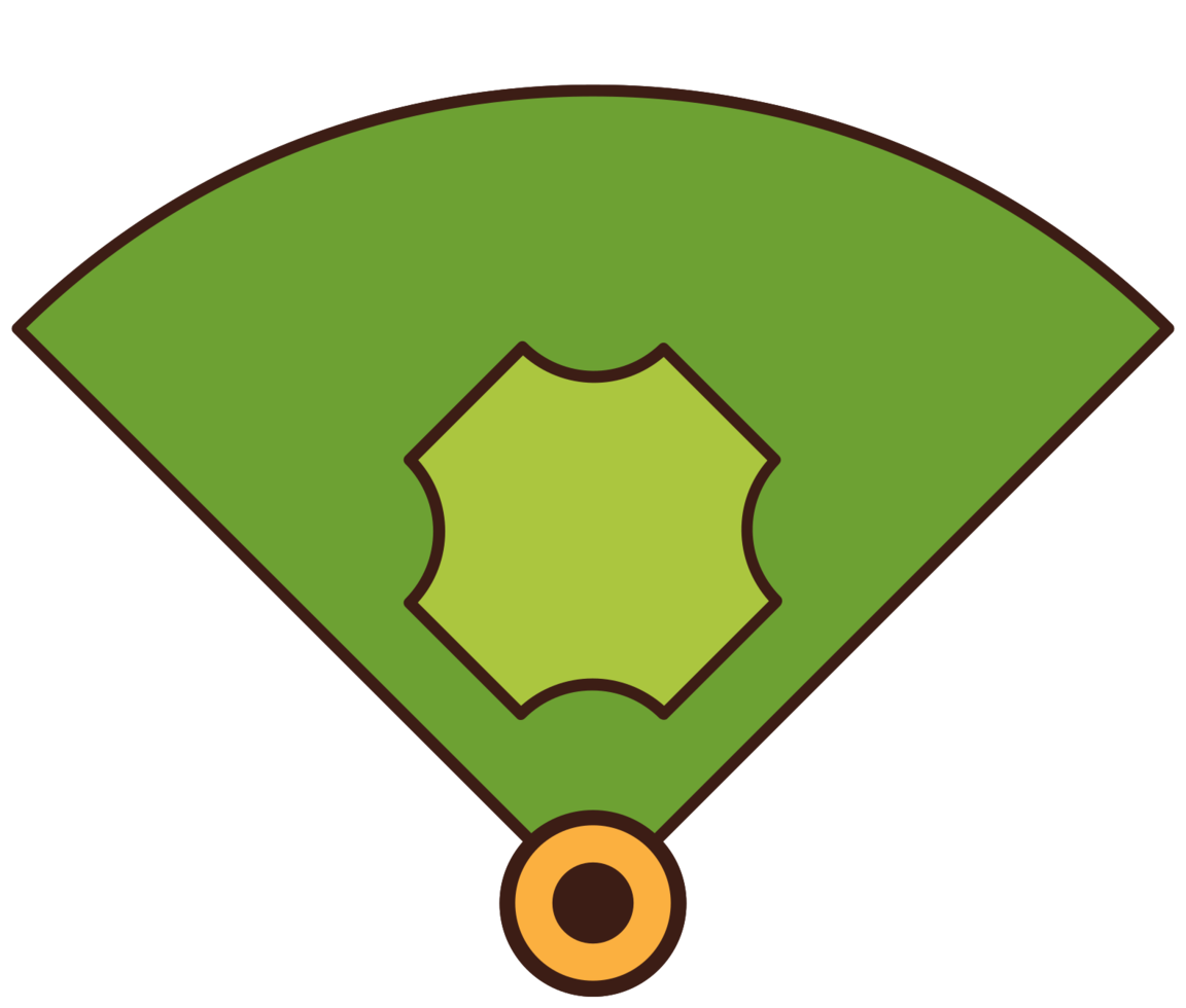 diamante de beisbol png