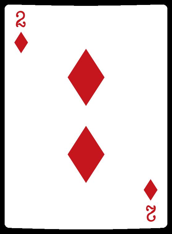 tarjeta de poker de diamantes png