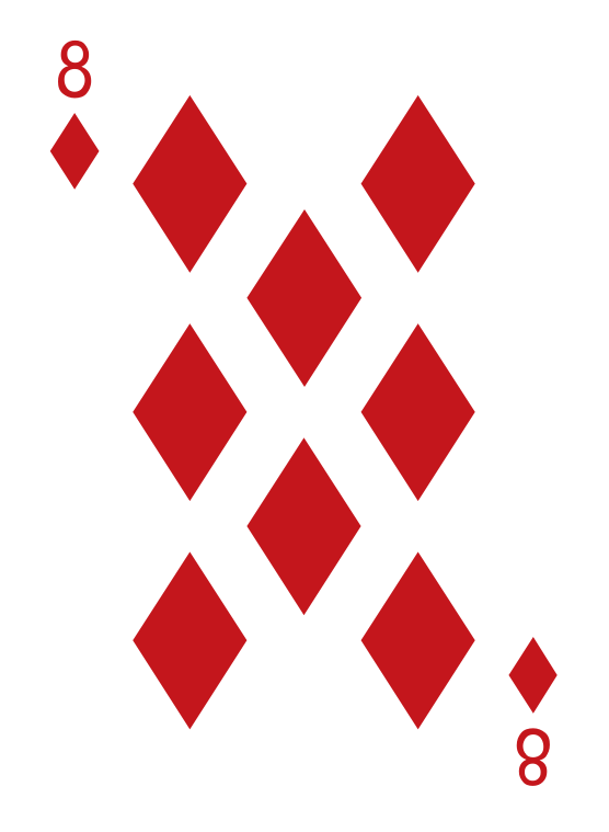 diamanten pokerkaart png