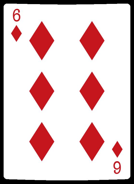 carta da poker con diamanti png