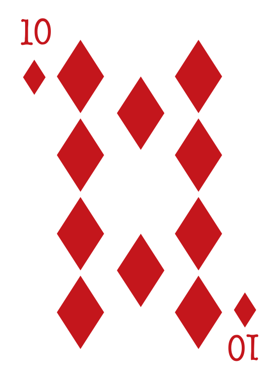 carte de poker diamant png